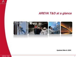 AREVA T&D at a glance