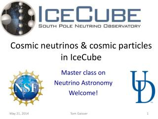 Cosmic neutrinos & cosmic particles in IceCube