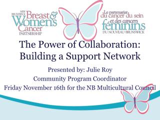The Power of Collaboration: Building a Support Network