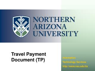Travel Payment Document (TP)