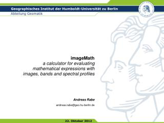imageMath a calculator for evaluating mathematical expressions with