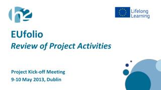 EUfolio Review of Project Activities