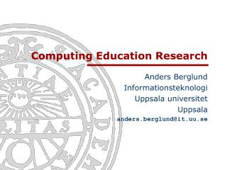 Computing Education Research