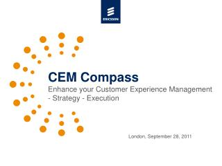 CEM Compass Enhance your Customer Experience Management - Strategy - Execution