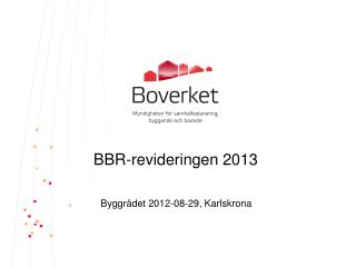 BBR-revideringen 2013