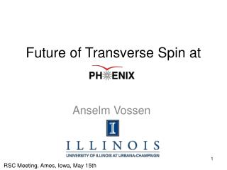 Future of Transverse Spin at