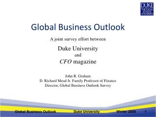 Global Business Outlook
