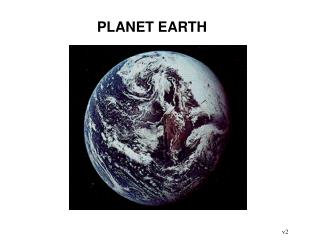 PLANET EARTH