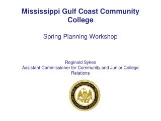 mississippi Community and Junior College Relations