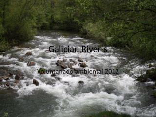 Galician River´s