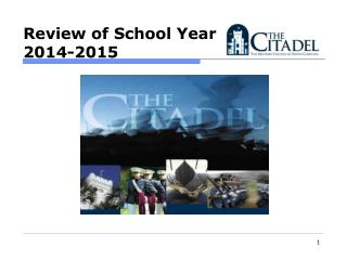 Review of School Year  2014-2015