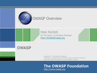 OWASP Overview