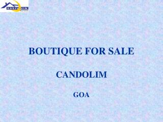 BOUTIQUE FOR SALE