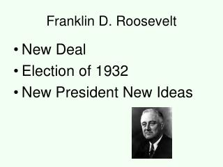 why did roosevelt win the 1932 Designed for aqa gcse america 1920-1973, opportunity and inequality reasons are assessed as to why hoover lost and roosevelt won the election the lesson begins with addressing the approach of the two candidates in order to develop discussion as to t.