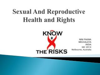 Sexual And Reproductive Health and Rights