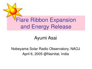 Flare Ribbon Expansion and Energy Release