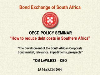 Bond Exchange of South Africa
