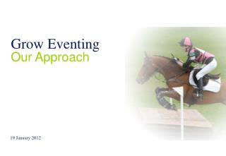 Grow Eventing Our Approach