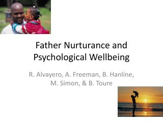 Father Nurturance and Psychological Wellbeing