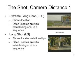 The Shot: Camera Distance 1