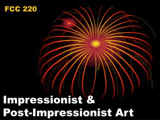 Impressionist & Post-Impressionist Art