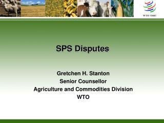 SPS Disputes