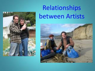 Relationships between Artists