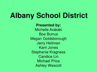 Albany School District