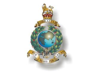 """GIBRALTAR"" THE FIRST AND ONLY BATTLE HONOUR WORN ON THE CORPS CREST"