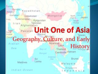 Unit One of Asia