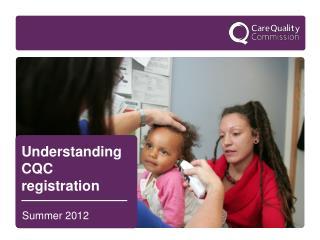 Understanding CQC registration