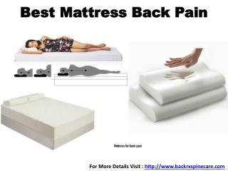 Best Mattress Back Pain in Mumbai, India
