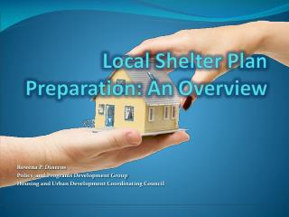 Local Shelter Plan Preparation: An Overview