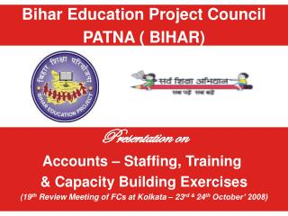 Bihar Education Project Council PATNA ( BIHAR)