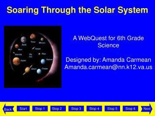 Soaring Through the Solar System