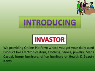 Invastor - Online Deals Your Dally Used Product in US