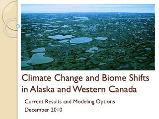 Climate Change and Biome Shifts in Alaska and Western Canada