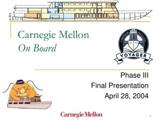 Carnegie Mellon  On Board