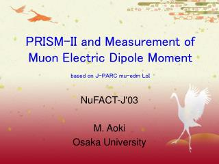 PRISM-II and Measurement of Muon Electric Dipole Moment based on J-PARC mu-edm LoI