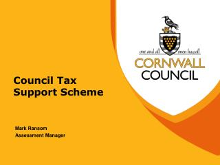 Council Tax Support Scheme