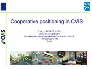 Cooperative positioning in CVIS