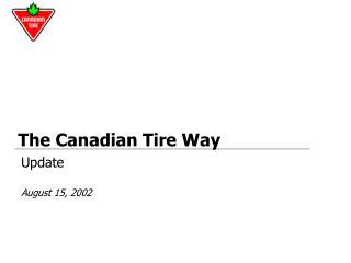 The Canadian Tire Way