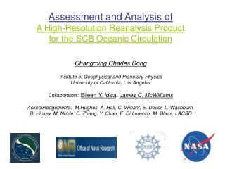 Assessment and Analysis of A High-Resolution Reanalysis Product  for the SCB Oceanic Circulation