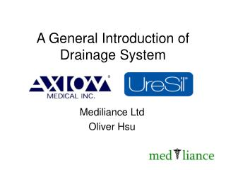 A General Introduction of  Drainage System