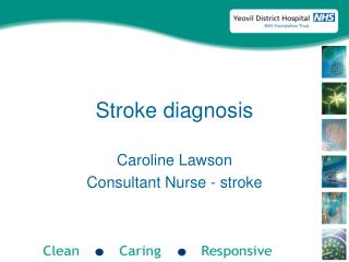 Stroke diagnosis