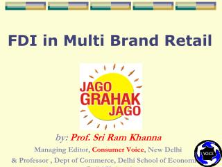 FDI in Multi Brand Retail
