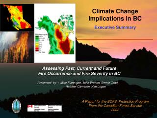 Climate Change Implications in BC Executive Summary