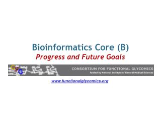 Bioinformatics Core (B) Progress and Future Goals