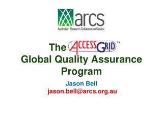 The                : Global Quality Assurance  Program