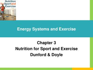 Energy Systems and Exercise